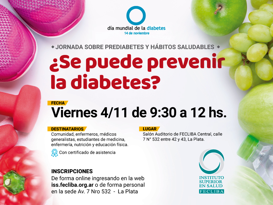Flyer Jornada Prediabetes
